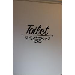 Deur sticker Toilet
